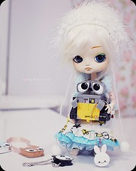 Wall-E  ( MaL Pink  ) Tags: cute doll dolls sweet fluffy dal malu kawaii boneca walle