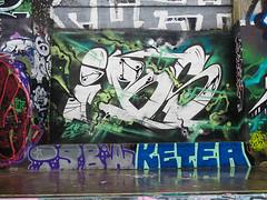 Nantes, Smerf (Zerbi Hancok) Tags: street france wall graffiti graff nantes murs ruepaulnizan