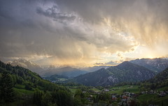 after the thunderstorm (koaxial) Tags: green colors rain clouds shower berchtesgaden view wolken valley thunderstorm aussicht tal koaxial p507456367p6ma