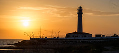 Lighthouse sunset (svg74) Tags: lighthouse sunset andaluca atardecer andalusia sun mediterrneo mediterraneansea costadelsol faro mlaga torrox