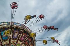 Fair Day (explore) (Sebastian Humphreys) Tags: sky colors clouds fun fairgrounds flying sandiego statefair swings delmar fairday delmarracetrack