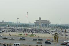 Tiananmen Square (jkozik) Tags: china beijing forbiddencity tiananmensquare 2016 mausoleumofmaozedong