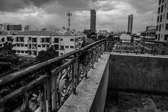 Derelict Building Ari, Bangkok (gcgs1980) Tags: urban white black monochrome bangkok derelict ari lightroom
