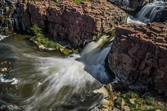 Falls Park, Sioux Falls (DonMiller_ToGo) Tags: longexposure water southdakota landscape outdoors waterfalls hdr siouxfalls 3xp slowwater hdrphotography d5500