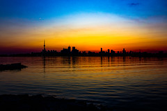 Sunset on The Skyline (A Great Capture) Tags: blue red orange sun white toronto ontario canada reflection golden spring twilight photographer canadian springtime on agc 2016 jamesmitchell adjm wwwagreatcapturecom agreatcapture mobilejay