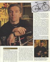 p46 Framed Art - Erickson (kurtsj00) Tags: santa bike bicycle framedart frame columbine custom della erickson sachs bicycleguide