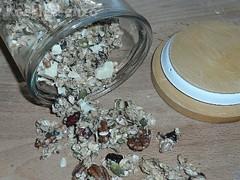 Granola Witte Chocolade (kaskoekie) Tags: december 2014 recepten koekiesenzo
