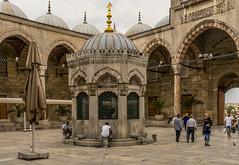 DSC00075-2 (UmitCukurel) Tags: street cloud turkey candle turkiye tram istanbul mosque historical cami turquia touristic eminonu yenicami sirkeci cith