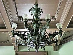 Cylburn Mansion ~ chandelier (karma (Karen)) Tags: maryland baltimore chandeliers ceilings estates mansions historichomes cylburnmansion nrhp