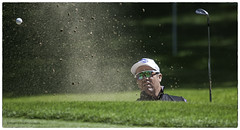Scott Hend Bunker (jdl1963) Tags: golf scott sand european tour professional wentworth bunker pga trap 2016 hend