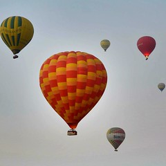 Colours in the sky (fabriziocaradonna) Tags: sky nature beauty balloons fun fire air ngc explore colourful akr