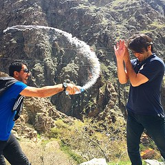 Splashing #water to best #friend. #Tehran... (man.s0ur) Tags: water friend tehran darband splashing uploaded:by=flickstagram instagram:photo=9612607747176936561824781062 instagram:venuename=d8a7d8b1d8aad981d8a7d8b9d8a7d8aad8afd8b1d8a8d986d8af instagram:venue=492026443