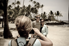 Picture in Picture (Silky Mitts) Tags: park travel island hawaii photo big nikon o outdoor meta national aloha puuhonua honaunau d7000