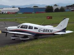 G-BRKH Piper Dakota 28 (Aircaft @ Gloucestershire Airport By James) Tags: james airport gloucestershire 28 piper dakota lloyds egbj gbrkh