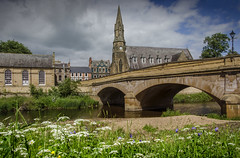 Morpeth, Northumberland (DM Allan) Tags: summer river northumberland morpeth wansbeck