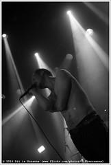 Royal Headache @ Vera Mainstage (Dit is Suzanne) Tags: 10062016 img8952 nederland netherlands   groningen ditissuzanne canoneos40d sigma30mmf14exdchsm veraclub vera veramainstage concert gig  royalheadache saunayouth zwartwit blackandwhite  availablelight beschikbaarlicht views100
