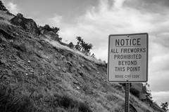_MG_8944 (grantkilekas) Tags: blackandwhite fire fireworks tablerock charred