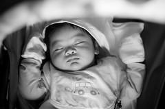 Sleeping Angel (paul.ines) Tags: sleeping portrait baby cute infant child pentax cuteness bnw k5