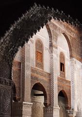 Fes El Bali Morocco-Medersa el Attarine.8-2016 (Julia Kostecka) Tags: morocco fes madrasa medersa feselbali medersaelattarine
