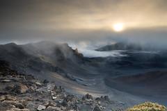 Surreal Sunrise, Haleakala, Maui (e.b. image) Tags: travel volcano hawaii maui haleakala lightroom topazclarity sonya99 tamronsp247028