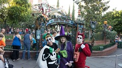 Lock, Shock, Barrel Halloween costumes! (Waffle_Princess1955) Tags: christmas costumes party halloween jack cosplay lock disneyland barrel before haunted sally shock nightmare mansion mickeys mhp 2015