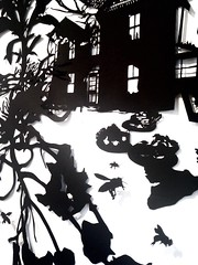 MBosley_MindYourOwnBeekeeperdetail2 (TheWayThingsWere) Tags: silhouette paperart silhouettes papercut papercuts papercutting mollybosley