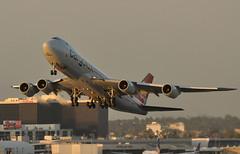 LX-VCI   LAX  SUNSET (airlines470) Tags: lax lxvci 747 msn 35822 ln 1478 cargolux airport 747800 747800f 7478r7f sunset