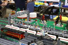 BW_16_Penn-Tex_013 (SavaTheAggie) Tags: pennlug tbrr pentex texas brick railroad train trains layout steam engine locomotive locomotives display yard city
