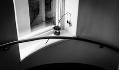 DSCF6315.jpg (Thomas Hultgren) Tags: faded flower sweden stockholm trapphus stairwell