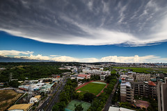 (Yi-Liang Lai) Tags: sky cloud skyline clouds canon cityscape cloudy taiwan wideangle kaohsiung     cityskyline 6d wideanglelens 1635mm  kaohsiungcity canon6d  1635f4l