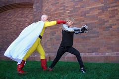 IMG_9947 (firecloak) Tags: male cosplay hero superhero cyborg opm akon genos onepunchman