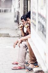 Synchronicity (georgerani532) Tags: men tea streetphotography synchronicity companionship