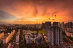 Uprising (bing dun (nitewalk)) Tags: sunset panorama singapore sony hdb epic clementi a7r fe1635