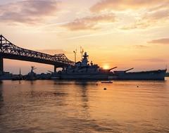 _MG_3453-Edit (lapre93) Tags: sunset battleship fallriver battleshipcove