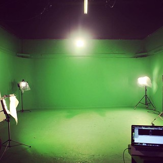 Spot the HULK 😅 Film festival ident shoot  #chromakey #videoproduction #greenscreen #ident #squareelephantproductions #lights #camera #action #london