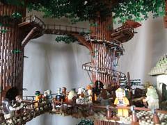 Ewokdorf - Brcke 02 (KW_Vauban) Tags: starwars lego endor ewokvillage episodevi thereturnofthejedi