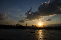 Solstice Sunset DSL8349 (iloleo) Tags: sunset sun toronto skyline clouds landscape scenic solstice vista lakeontario lesliespit nikond7000