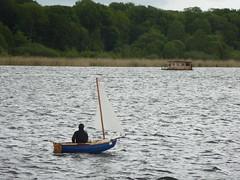 Einmannboot (Swassermatrose) Tags: germany deutschland brandenburg segelboot havel 2016 jolle