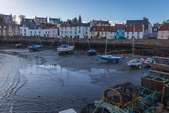 St Monans Harbour 2 (sandergroffen) Tags: houses sea boats harbor scotland fishing village fishermen unitedkingdom united kingdom gb coastline landscapephotography saintmonans