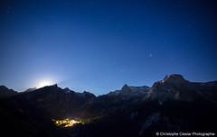 Gourette (Christophe Cieslar Photographie) Tags: nightphotography montagne canon landscape nightscape pyrnes gourette barn