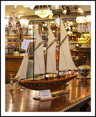 A 3-Masted Schooner For Your Dining Room Table (sjb4photos) Tags: michigan ypsilanti materialsunlimited 3mastedschooner shipmodel