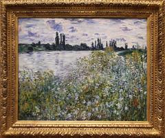 Claude Monet - Ile aux Fleurs near Vetheuil 1880 (ahisgett) Tags: new york art museum met metropolitian
