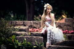 Legendary Maid Minalinsky (Snowgrimm) Tags: park anime girl beauty costume pretty cosplay madeinjapan lovelife kotori