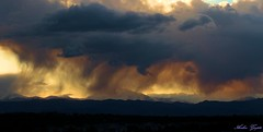 Its raining over there.. (ankurgupta17) Tags: mountains rain clouds rockies us colorado rocky boulder