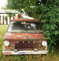 1960's Ford Van (dfirecop) Tags: auto ford pennsylvania pa vehicle carlisle 1100 1960 autosales harrisburgpike dfirecop lwmentzer vane100