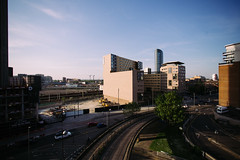 Rooftop (Leo Hidalgo (@yompyz)) Tags: blue summer sky london love film canon eos reflex europa europe random cam like explore londres create vibes dslr 6d fotografa vsco ileohidalgo yompyz