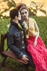 Eric and Laliya (astramaore) Tags: summer male london love face fashion rock by night hair toy toys photography necklace high model kiss kissing couple doll long nu pair relationship agency lukas 16 earrings lovestory affair ayumi maverick relations ringmaster integrity astramaore