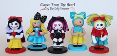 Clayed From The Heart (thedollydreamer) Tags: dolls oneofakind ooak polymerclay snowwhite collectibles whimsical aliceinwonderland signed numbered thedollydreamer bridgetdellaero clayedfromtheheart