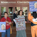 Protest against Dick Cheney thumbnail