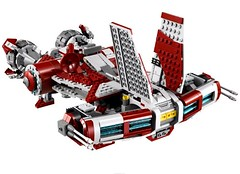 Jedi Defender Class Cruiser 4 (Brickwielder) Tags: star class jedi wars cruiser defender 2013